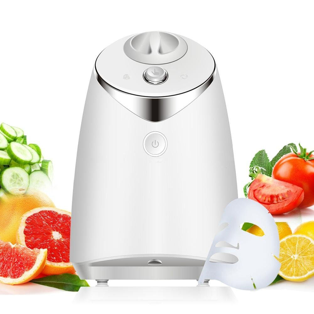 Pawaca Facial Mask Machine - DIY Fruit and Vegetable Mask Machine - Full Automation Facial Care Mask Maker Machine - FDA-certified (Collagen Included)