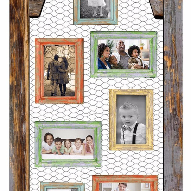 Wire Picture Frame Collage - Best Frames 2018