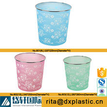 10L plastic trash can container for home office