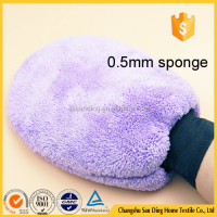Basic Style Microfiber Cleaning Glove, Auto/Car/Household Cleaning Glove