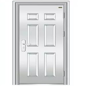 factory price stainless steel garage vented exterior security door