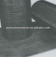 80 mesh Plain weave wire mesh/black wire cloth