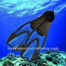 Factory price professional super soft silicone diving equipment swim fin diving fin for adults