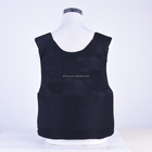 Customized Size black Police used bulletproof vest sale