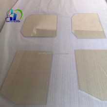 fire resistant ceramic glass for gas heater