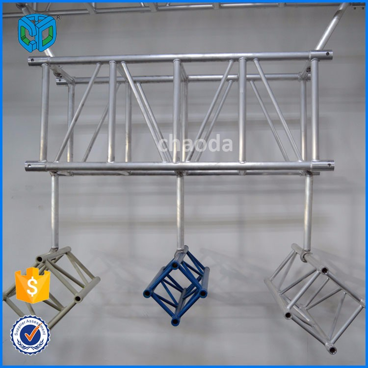 Heavy duty spigoted ground support truss system buy for Buy trusses