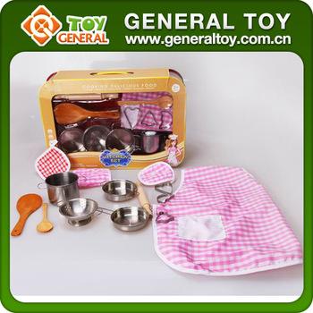 45 30 10cm Stainless Steel Kitchen Set Toy Mini Kitchen Set Toy