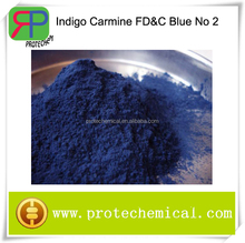 Food colorant Indigo Carmine, FD&C blue No 2 with Cas:860-22-0