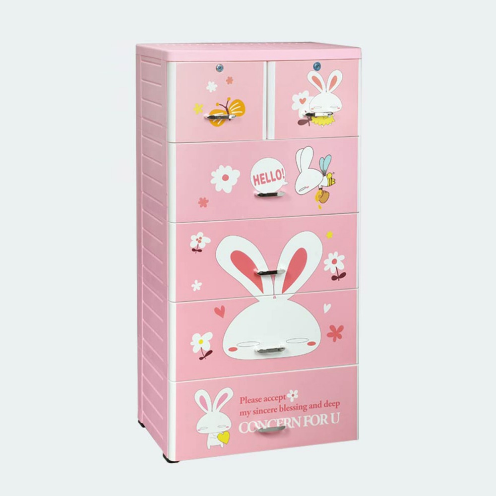 Newest Design 5 Layer Plastic Storage Cupboard For Baby ...