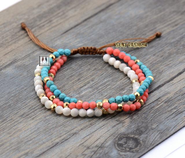 Nylon Cord Bracelet Alert