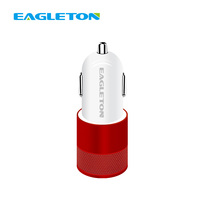 Bulk Sale Cheap price 5V 2A 2 Ports USB Car Charger Adapter