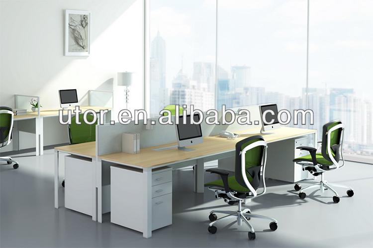 De la oficina moderna mesa de estaci n de trabajo tt for Mesas para oficinas modernas