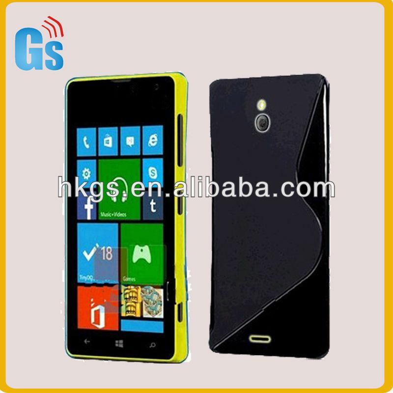 Lumia 729 Tpu Case,Tpu Soft Skin S Line Cover For Nokia Lumia 729 ...