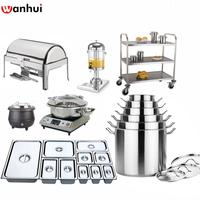 Stainless Steel GN Pan, chafer, stock pot and more restaurant equipment kitchen hotel