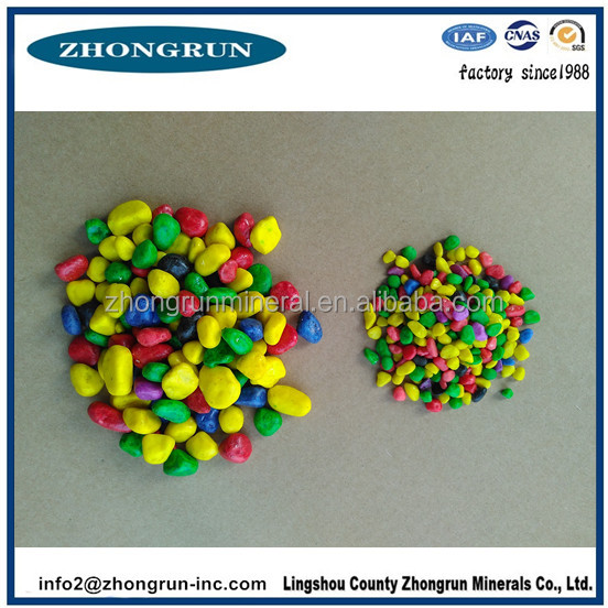 3-10mm color Cobbles