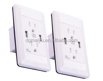 3 X Dual Power Plug Outlet Adapter With Dual Usb Charger Port ...