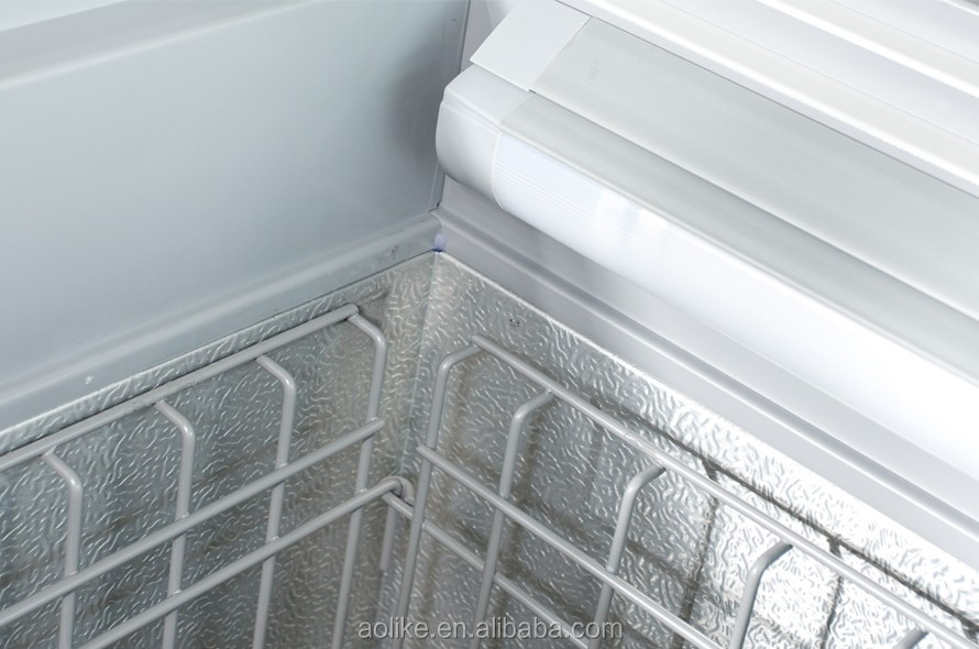 self contained island freezer
