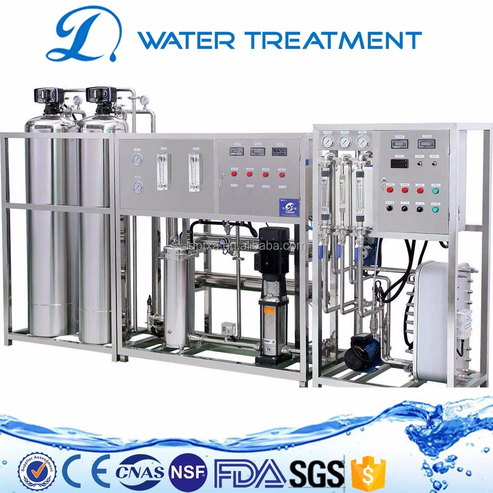 600LPH ro water EDI ultrapure water machine system for driking water