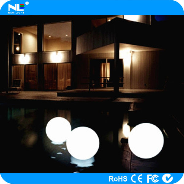 Colorful Outdoor Led Magic Lighting Ball / Battery Operated ...