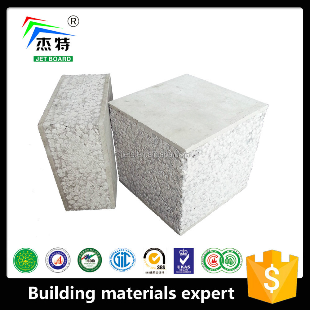 Fire Proof Prefabricated Panel Area Saving building material rapid construction wall panel