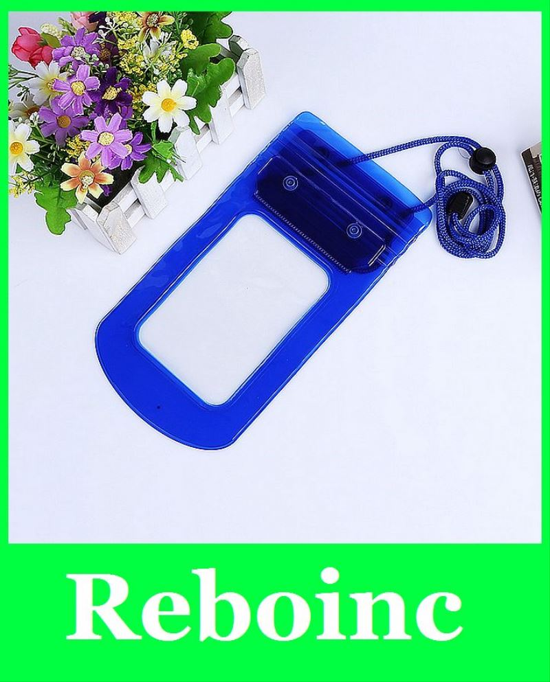 Fluorescence simple and fashion waterproof case for iphone mobile phone waterproof bag for Samsung
