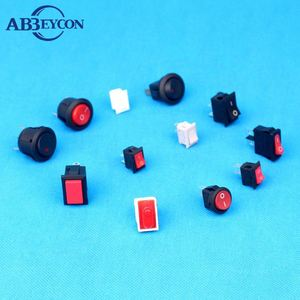 10A 250V AC T125 16A 125(250)V AC T85 Illuminated Momentary Rocker Switches light switch