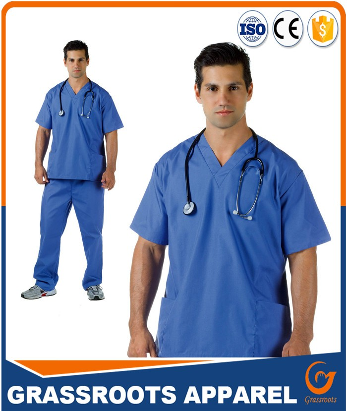 5621f7c0c13 OEM scrub sets hospital uniform hospital clothes short sleeve for men/women  hot sale for