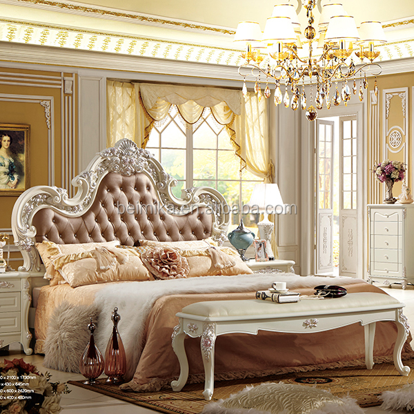 Moderne De Lits De Luxe Royal Style Chambre Ensemble - Buy Product ...