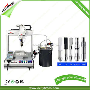 Ocitytimes Automatic cartridge filling machine for 510 thread cbd vaporizer