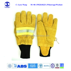 4 Layers Firefighter Gloves