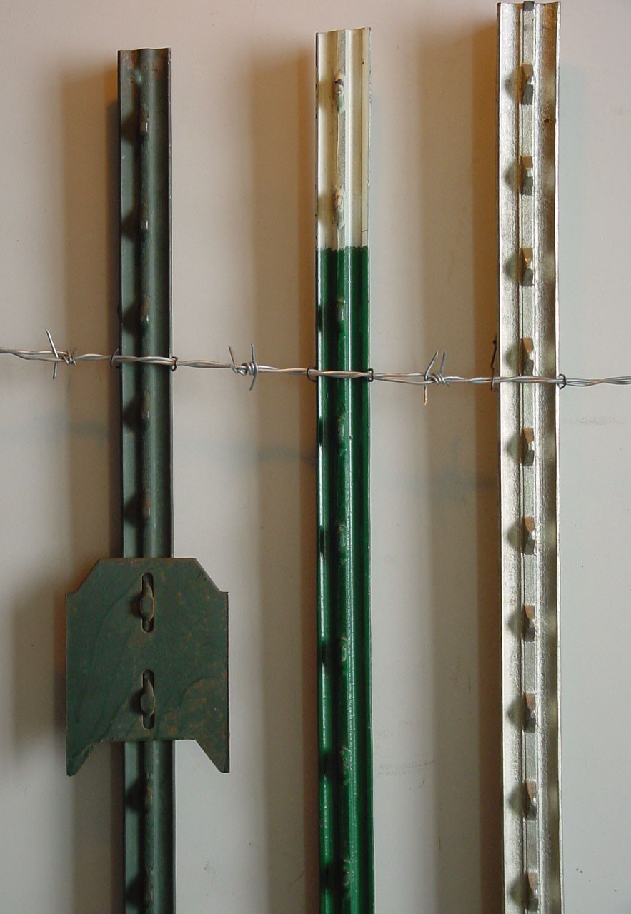 Cheap Price Galvanized And Pvc Color Fence T Posts Y Fence