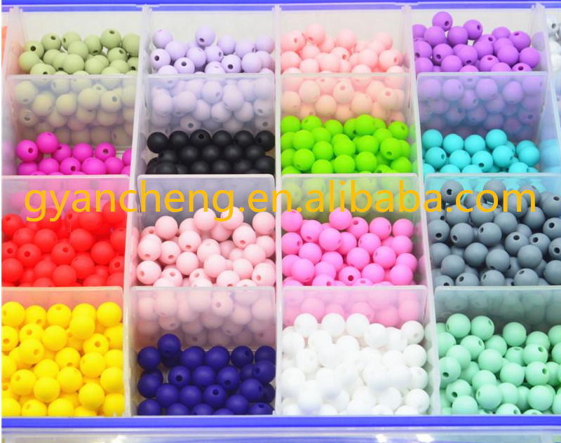 Cheap Wholesale Loose Silicone Beads for Jewelry