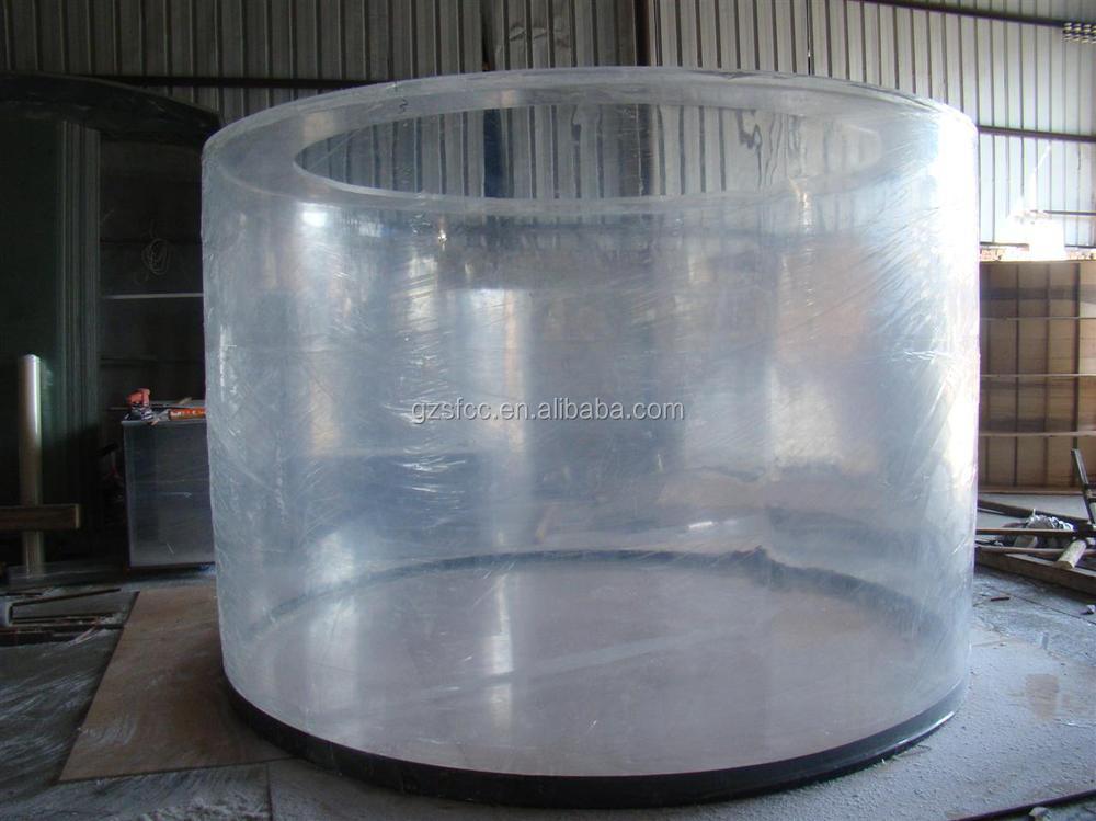 Mm flat bottom thick large diameter tube