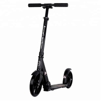 EN14619 approval certificate adult kick scooter with 200mm big wheels