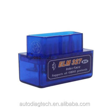 2017 Super Mini ELM327 Bluetooth V2.1 OBD2 Car Diagnostic Tool Mini ELM 327 Blue