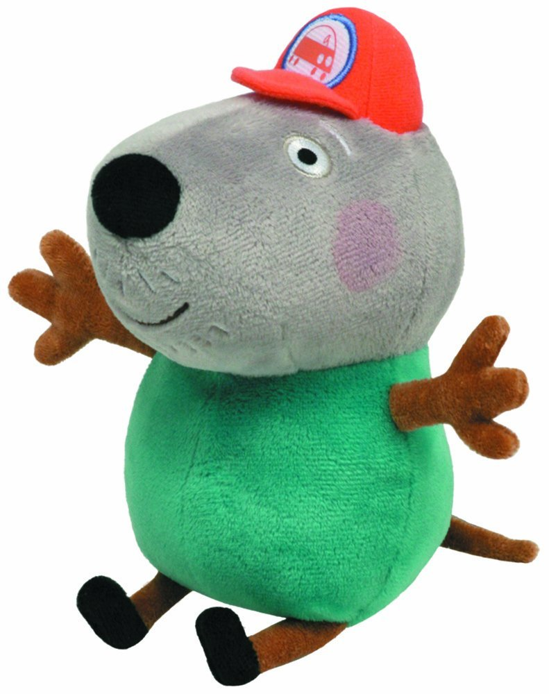 Get Quotations · TY Beanie Baby - GRANDAD DOG (UK Exclusive - Peppa Pig) b9ff98991fd6
