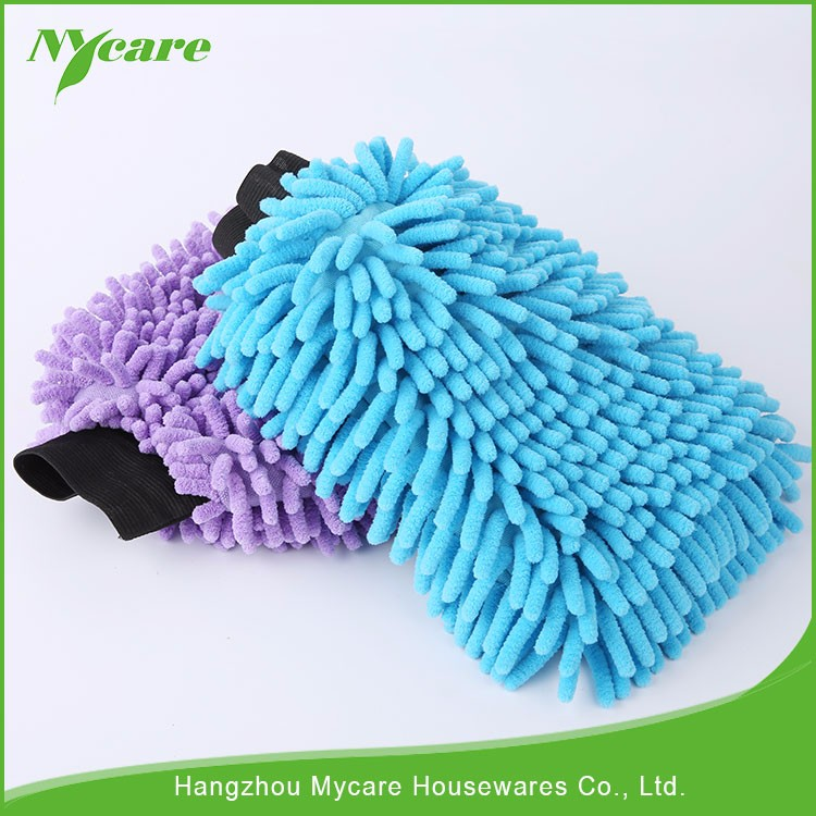 Super cleaning sponge gloves, washable microfiber gloves, car cleaning gloves
