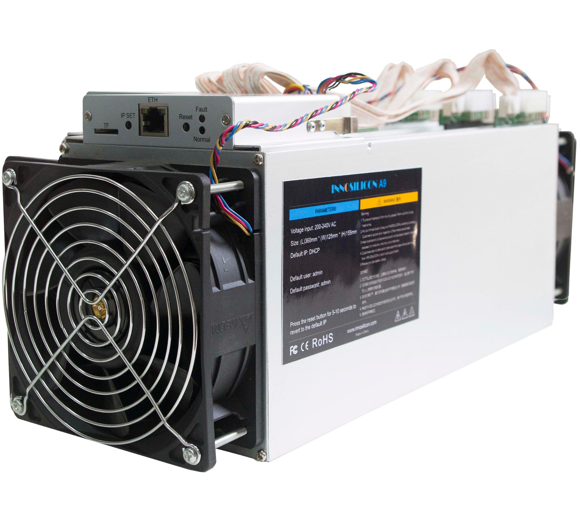 Innosilicon A9 Buy One Get One Free,Zmaster Inno A9 Zec Miner 50ksol/s,650w  Crypto Miner - Buy Innosilicon A9,A9 Miner,Crypto Miner Product on
