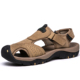 Summer SandalsGenuine Leather Closed-toe Outdoor Sandals Trekking Shoes for man