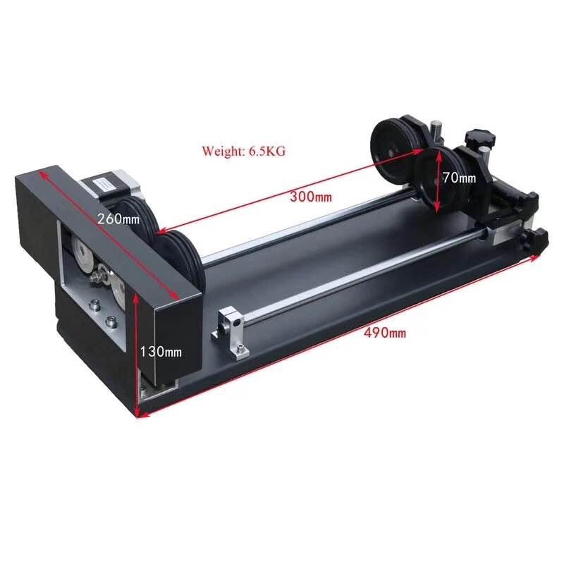 Service Laser Cutter Projecten Desktop 60 w CO2 Lasersnijmachine