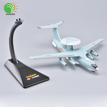 High Precision 1:200 Scale Xian KJ-2000 Alloy Model Plane Metal Aircraft Toy For Adults and Children