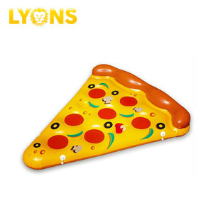 Customized pizza water toys adults swimming pool water park inflatable toys