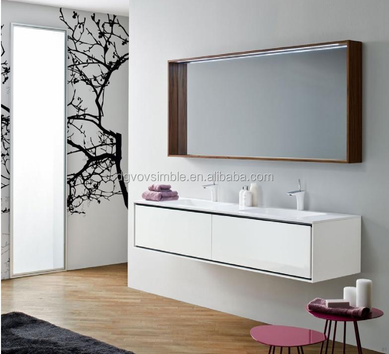 Eco friendlyWaterproof Customized Mdf Bathroom VanityCustomized