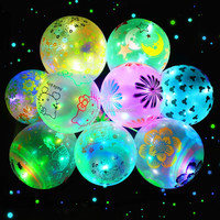 12 Inch printed LED Light Latex Balloons For Wedding party decoration