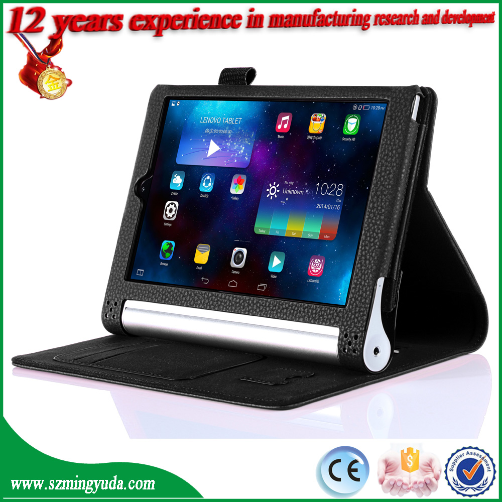 China Factory Flip Stand PU Leather Smart Case for Lenovo Yoga Tablet 3 Pro 10 inch