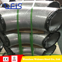 factory sale Butt-Welded Pipe and Fittings/45 degree Elbow