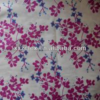 mill made 100% super fine weave printed cotton fabric textile