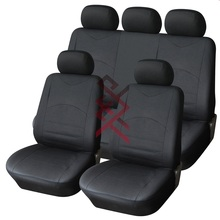Universal leather car seat covers design embroidery car seat cover