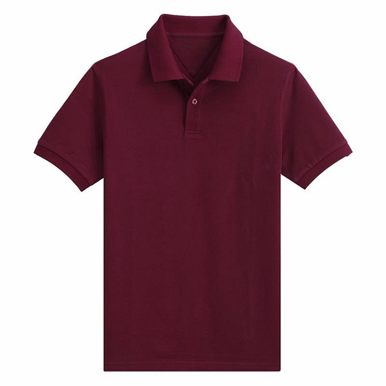 65 polyester 35 cotton wholesale uniform new design polo for Men s polyester polo shirts
