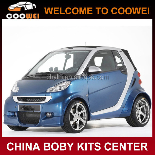 09-13 Bodystyling Smart PU Bumper Car Body Kits For Mercedes Smart